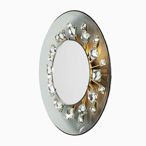 Vintage No. 2044 Backlit Mirror by Max Ingrand for Fontana Arte, 1961