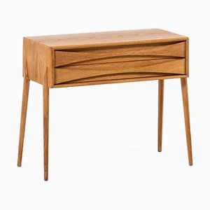 Tavolino con cassetti di Rimbert Sandholt per Glas & Trä, anni '60
