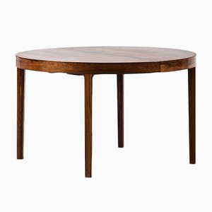 Vintage Dining Table by Ole Wanscher for A.J. Iversen