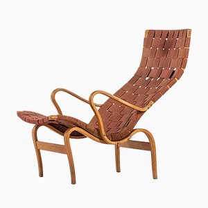 Pernilla Lounge Chair by Bruno Mathsson for Firma Karl Mathsson, 1944