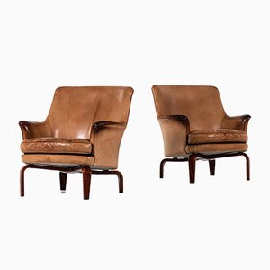 Pilot Lounge Chairs by Arne Norell, 1980s