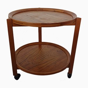 Teak Serving Trolley from Sika Møbler, 1960s