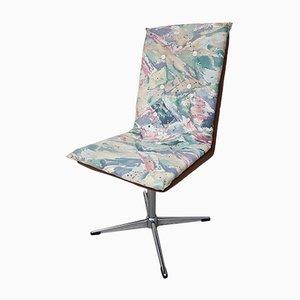 Chaise de Bureau en Chrome, 1980s
