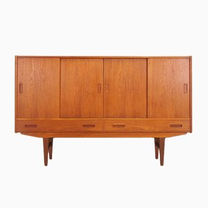 Teak Highboard by Erik Jensen, 1970s