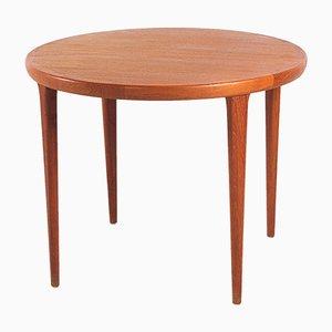 Tavolo piccolo rotondo di VV Møbler Sottrup, anni '60