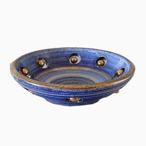Cuenco vintage de cerámica de Georges Pelletier, años 60
