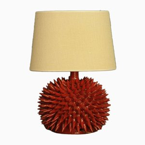 Vintage Swedish Glass Table Lamp, 1960s