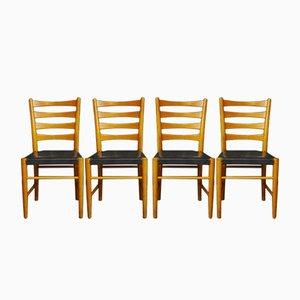 Chaises de Salon Vintage de Gemla Möbler, Set de 4