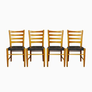 Vintage Dining Chairs from Gemla Möbler, Set of 4