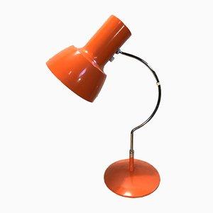 Lámpara de mesa naranja de Josef Hurka para Napako, años 60