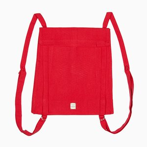 Rote Toteback Tasche von Winter in Holland, 2019
