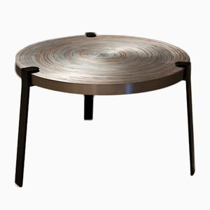 Remetaled Coffee Tables by Tim Vanlier for Matter of Stuff, Set of 2