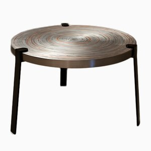 Small Remetaled Coffee Table by Tim Vanlier for Matter of Stuff