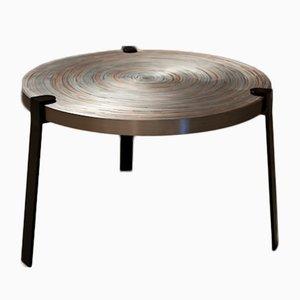 Petite Table Basse Remetaled par Tim Vanlier pour Matter of Stuff