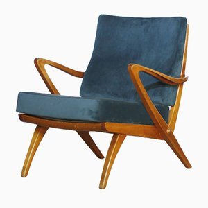 Mid-Century Antimott Armchair by Walter Knoll, 1950s, Set of 2