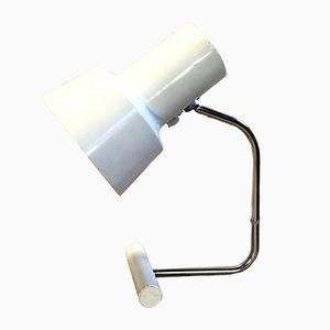 Lampe de Bureau Blanche par Josef Hurka pour Napako, 1960s