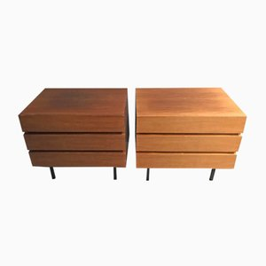Vintage Bedside Dressers, Set of 2