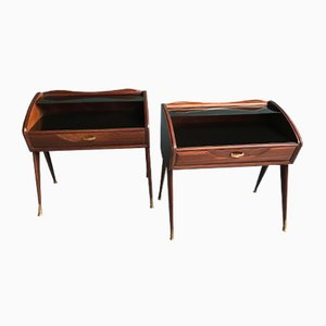 Tables de Chevet Vintage par Vittorio Dassi, Set de 2