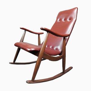 Rocking Chair par Louis van Teeffelen pour Wébé, 1960s