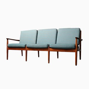 Mid-Century 3-Seater Sofa by Svend Åge Eriksen for Glostrup, 1960s