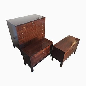 Commode & 2 Nightstands from MIM, 1960s