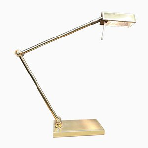 Brass Desk Lamp from Deknudt, 1970s