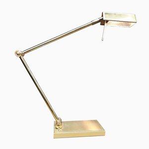 Brass Desk Lamp from Deknudt, 1970s