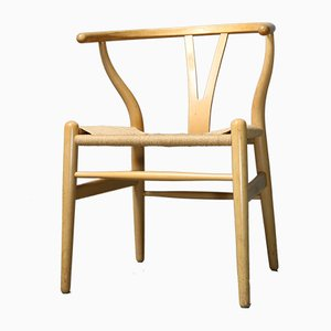 CH24 Beech Chair by Hans J. Wegner for Carl Hansen & Søn, 1980s