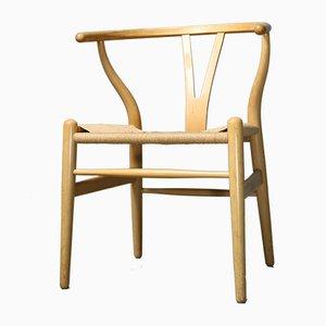 CH24 Stuhl aus Buche von Hans J. Wegner für Carl Hansen & Søn, 1980er