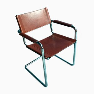 Vintage B34 Armchairs by Marcel Breuer for Matteo Grassi, Set of 10
