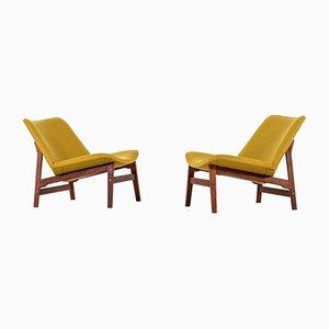 Fauteuils Vintage par Yngve Ekström pour ESE Möbler, Set de 2