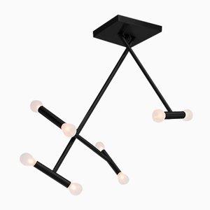 Schwarze Helios Deckenlampe von Sander van Eyck für Cocoon Collectables