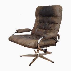 Mid-Century Swivel Lounge Chair, 1970s