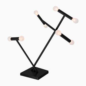 Schwarze Helios Tischlampe von Sander van Eyck für Cocoon Collectables