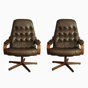 Vintage Armchairs from Göte Möbler, 1960s, Set of 2
