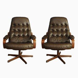 Vintage Sessel von Göte Möbel, 1960er, 2er Set