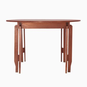Mid-Century Modern Swedish Teak Extendable Dining Table, 1960s