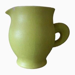 Brocca vintage in ceramica di Pol Chambost, anni '50