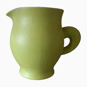 Vintage Ceramic Pitcher by Pol Chambost, 1950s
