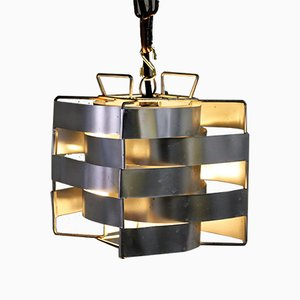 Cube Pendant Light by Max Sauze, 1970s