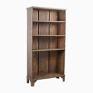 Industrielles Vintage Bücherregal aus Metall