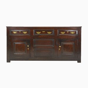 Antique English Oak Sideboard