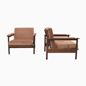 Mid-Century Italian Armchairs from Stildomus, Set of 2