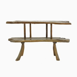 Rustic Console Table, 1960s