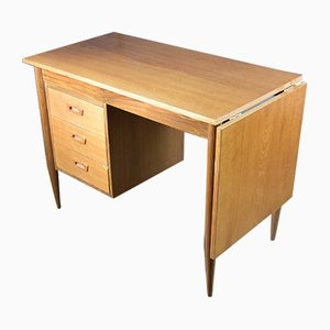 Small Vintage Dutch Extendable Desk, 1960s