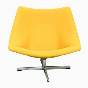Gelber Oyster Chair von Pierre Paulin für Artifort, 1960er