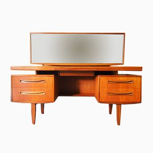 Mid-Century Fresco Floating Dressing Table with Mirror from G-Plan, 1970s