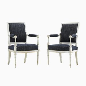 Antike französische Stühle, 2er Set