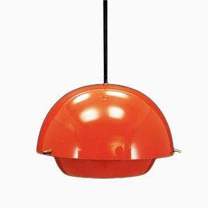 Vintage Red Pendant Lamp