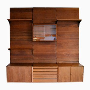 Mid-Century Teak Shelving System by Poul Cadovius for Cado